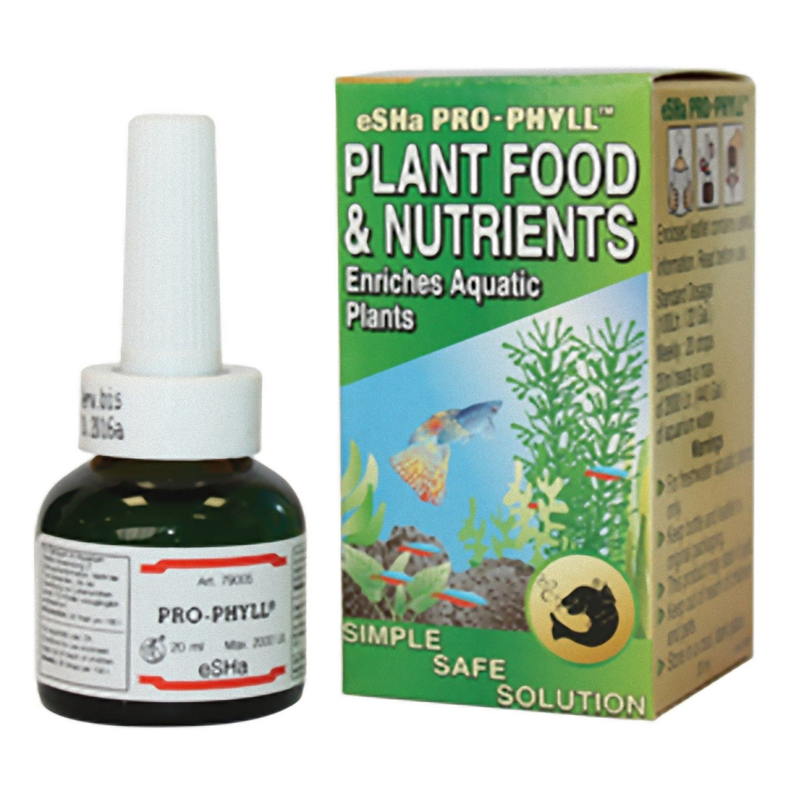 Esha Pro Phyll 20ml Plant Food Nutrients Enriches Live Aquatic Plants Aquarium